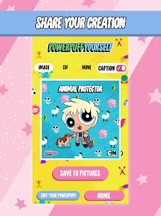 Powerpuff Yourself - Powerpuff Girls Avatar Maker Screenshot