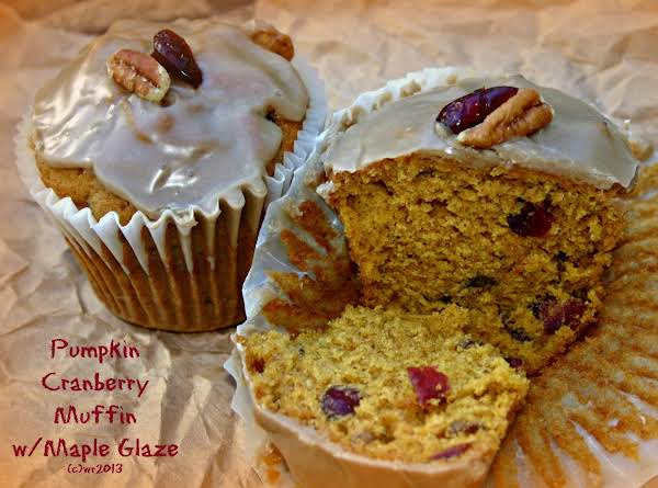 I've Made This Bread Into Muffins Many Times...this Time It Was Cranberries And Pecans...yum
