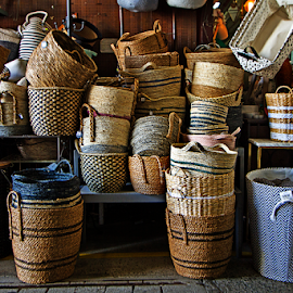 Variety Basket For Sales by Steven De Siow - Artistic Objects Business Objects ( artistic objects, basket, baskets, still life, artistic object )