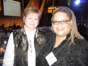 Photo: With activist Judy Shepard, mother of the slain Matthew Shepard.
