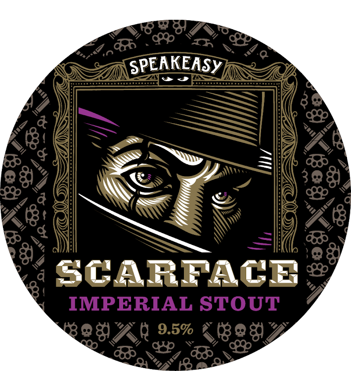 Logo of Speakeasy Scarface Imperial Stout