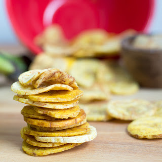.Baked Plantain Chips