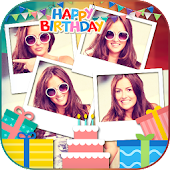 Birthday Photo Collage Maker