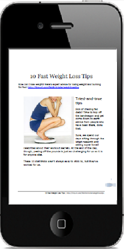 10 Fast Weight Loss Tips