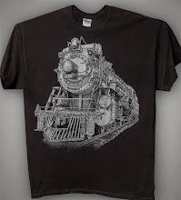 Photo: Steam Train t-shirt designs
