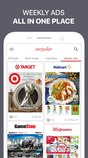 Shopular – Coupons, Savings, Shopping & Deals screenshot