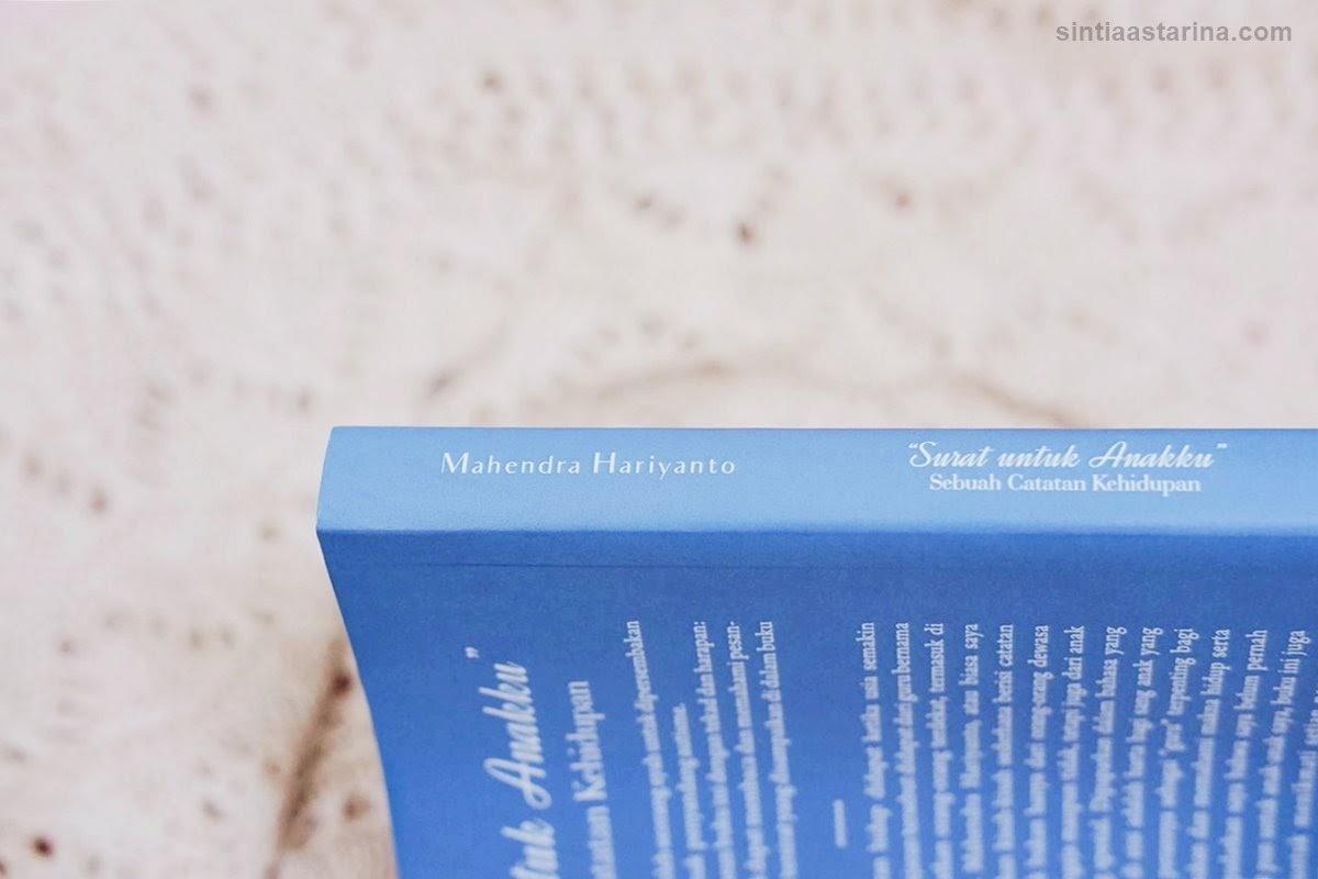 [BOOK REVIEW] Surat untuk Anakku Karya Mahendra Hariyanto