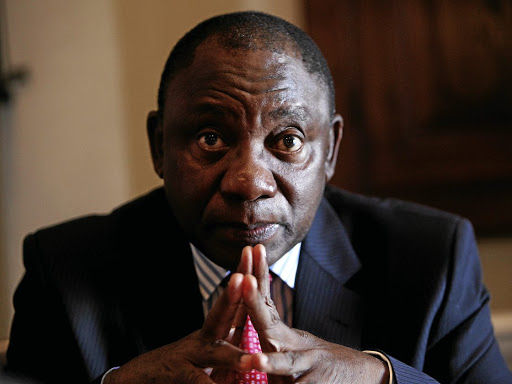 Deputy President Cyril Ramaphosa. Picture: SUPPLIED