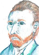 Photo: Tomisová Gabriela, 2. A (šk. rok 2013/2014) - Podle Van Gogha.