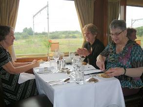 Photo: Tere, Melba, Karel for lunch