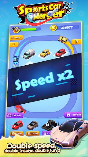 Sports Car Merger 2.5 screenshots 4