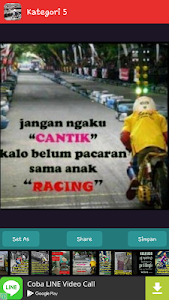DP Anak Racing Keren screenshot 5