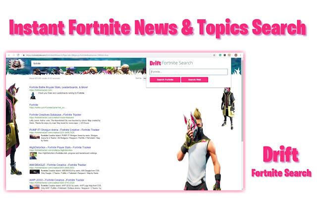 Fortnite Drift Search