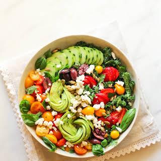 Garden Abundance Salad.