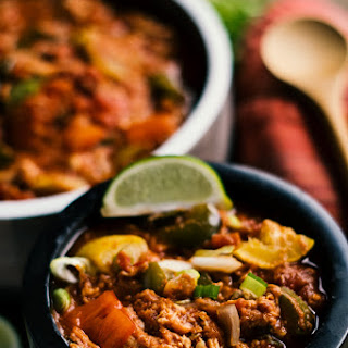 Keto Slow-Cooker Mexican Chicken.