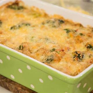 Creamy Chicken Quinoa and Broccoli Casserole Recipe