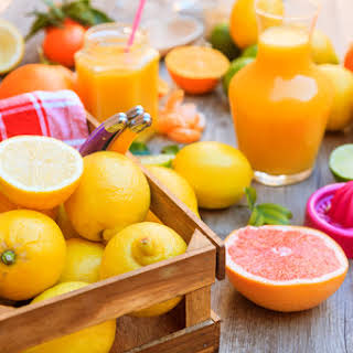 Citrus Detox Drink.