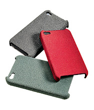 Photo: CHRONOTIME Stingray iPhone 4 case in black, red or green. $295. Also available in alligator, ostrich or goatskin in assorted colors. $95–$395. Imported. Seventh Floor. 212 872 2686