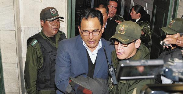 A la cárcel, cinco acusados de iniciar la revuelta de El Alto