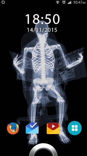X-ray Live Wallpaper