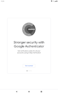 Google Authenticator Screenshot