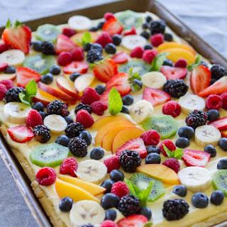 Fruit Flan Recipe