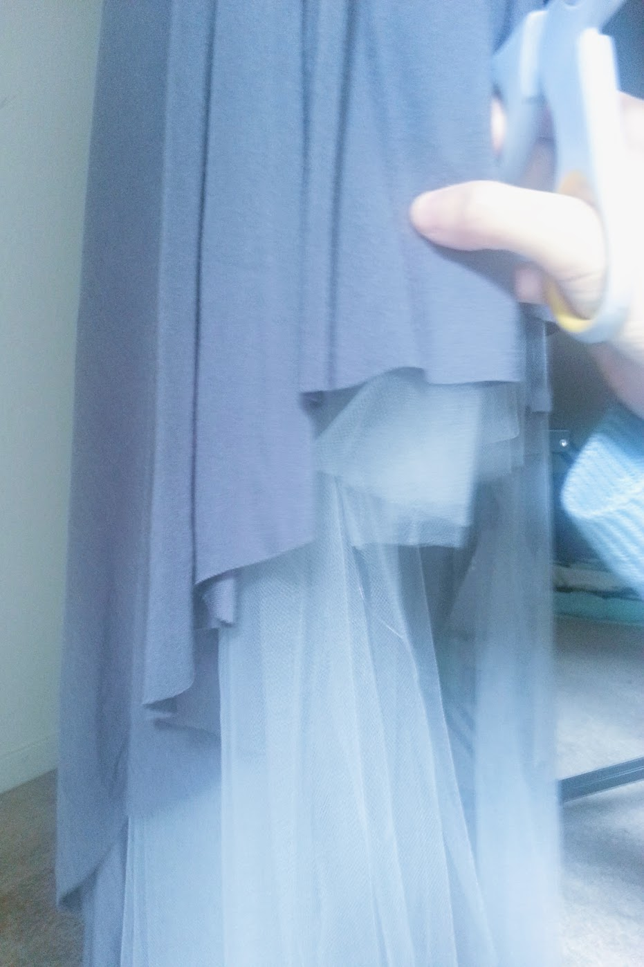 In-Progress: High-Low Circle Skirt Dress - DIY Fashion Garments | fafafoom.com