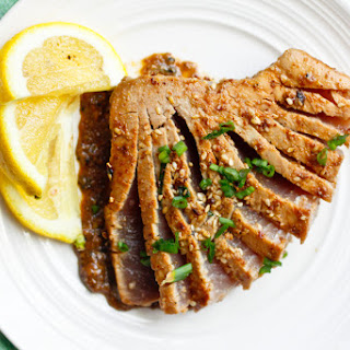 Ahi Tuna With Ginger Soy Sauce Recipes