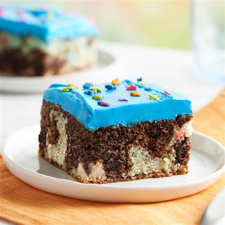 Mix It Up Funfetti® Brownie Sheet Cake Recipe