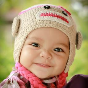 My Husna by Oren Kaler - Babies & Children Babies ( potrait, girl, baby, smile )