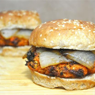 Vegan Sweet Potato Veggie Burgers