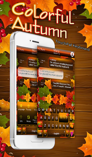 免費下載生活APP|Colorful Autumn Keyboard Theme app開箱文|APP開箱王