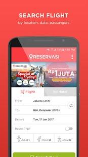 Reservasi.com - Flight & Hotel - náhled