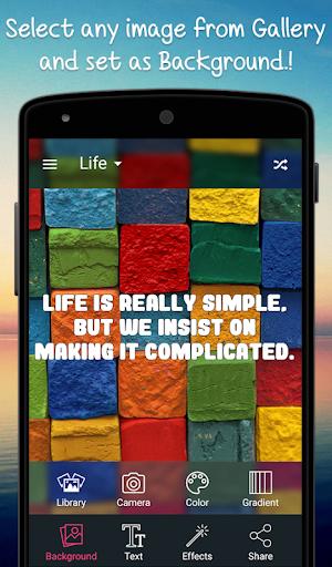 Creative Quotes Maker Book - Quotes Creator App screenshots 10