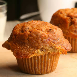 Lightly Spiced Carrot Muffins.
