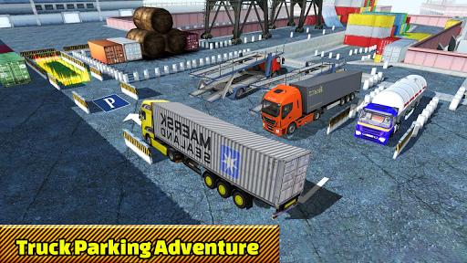 Truck Parking Adventure 3D:Impossible Driving 2018 apkpoly screenshots 5