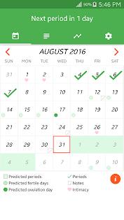 Period Tracker แอป (APK) ดาวน์โหลดได้ฟรีสำหรับ Android/PC/Windows screenshot