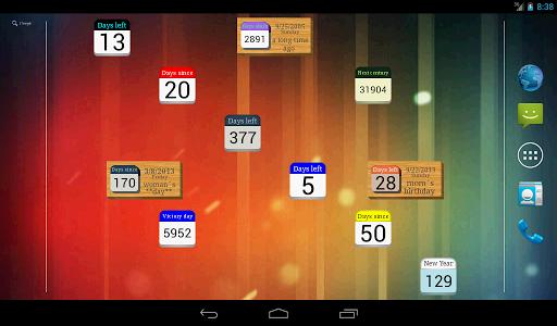 Days Left (countdown timer) screenshot 7