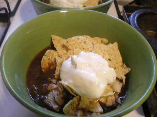Black Bean Tortilla Soup With Cilantro Lime Cream Recipe