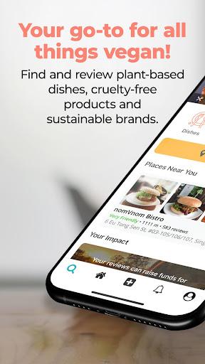 abillionveg - Find Vegan Stuff 1.6.0 screenshots 1
