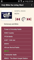 Screenshot of Holy Bible the Living Word