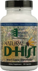 Ortho Molecular Product Natural D-Hist Dietary Supplement - 120 Capsules