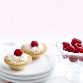 Lemon Meringue Raspberry Tarts.