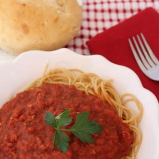 Copycat Olive Garden Marinara Sauce.