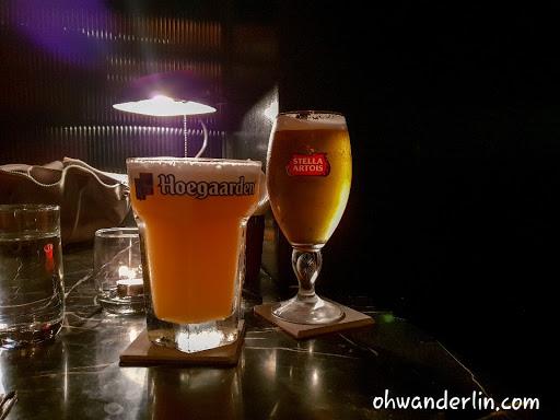 非常主流的一家酒吧 比較特別的是它的500ml啤酒杯
