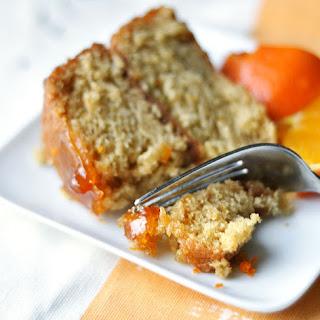 Sticky Orange Cake with Marmalade Glaze.