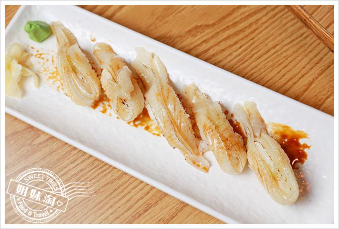 大手町日本料理炙燒比目魚握壽司
