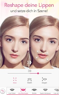YouCam Makeup - Selfie Cam & Virtuelles Makeover Screenshot