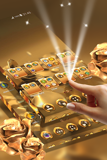 Rose Gold Launcher Theme  screenshots 3