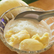 Durian Coconut Sticky Rice
